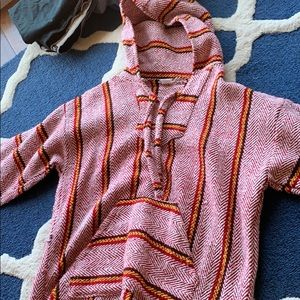 Other - Men's Red Pancho Sweater